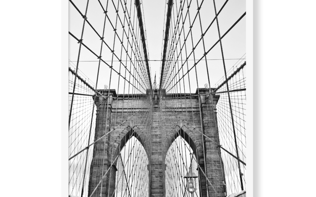 Brooklyn Bridge, format 30×40