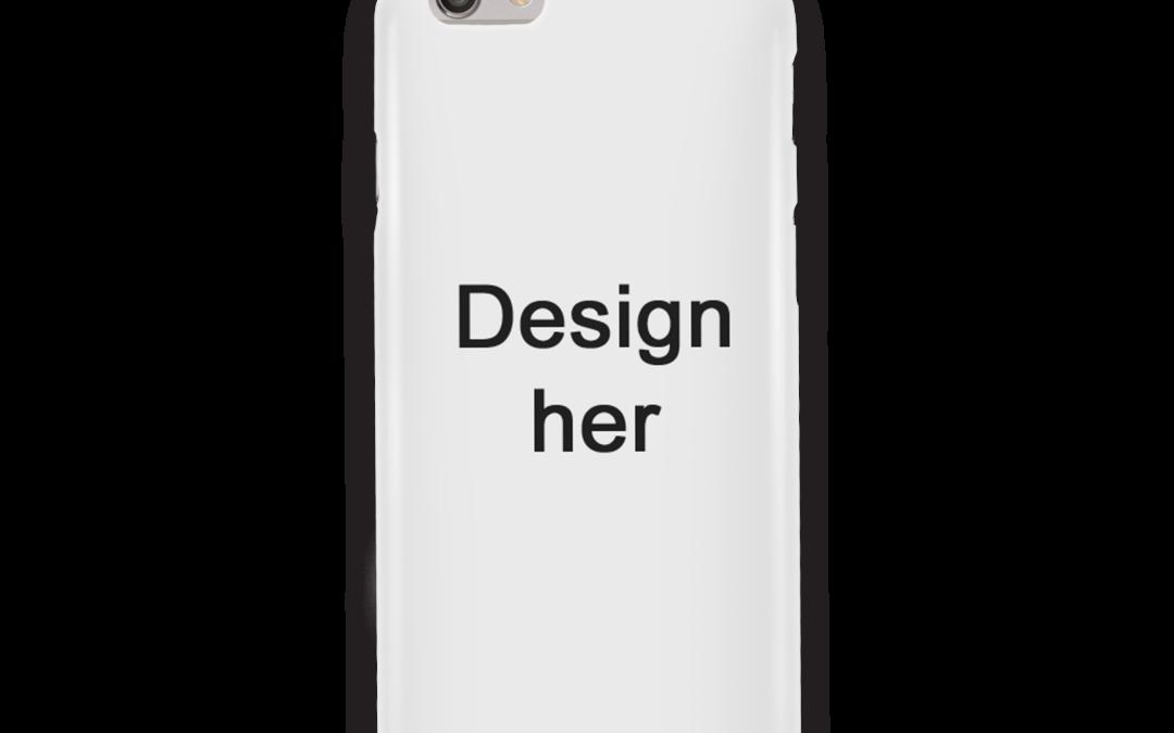 design iphone cover hvid