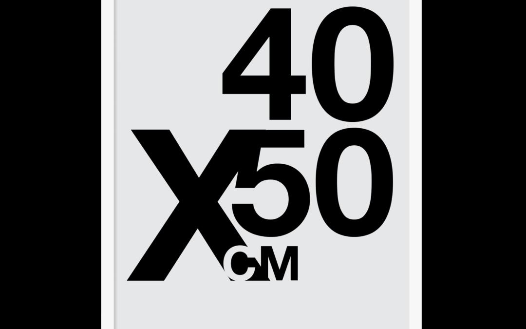 Design selv plakat – 40×50