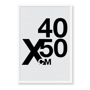 Design din egen plakat i formatet 40x50