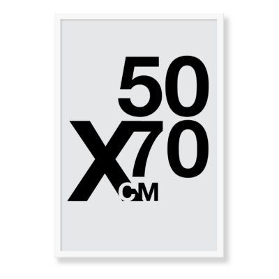 Vores 50x70 plakater som du selv kan designe