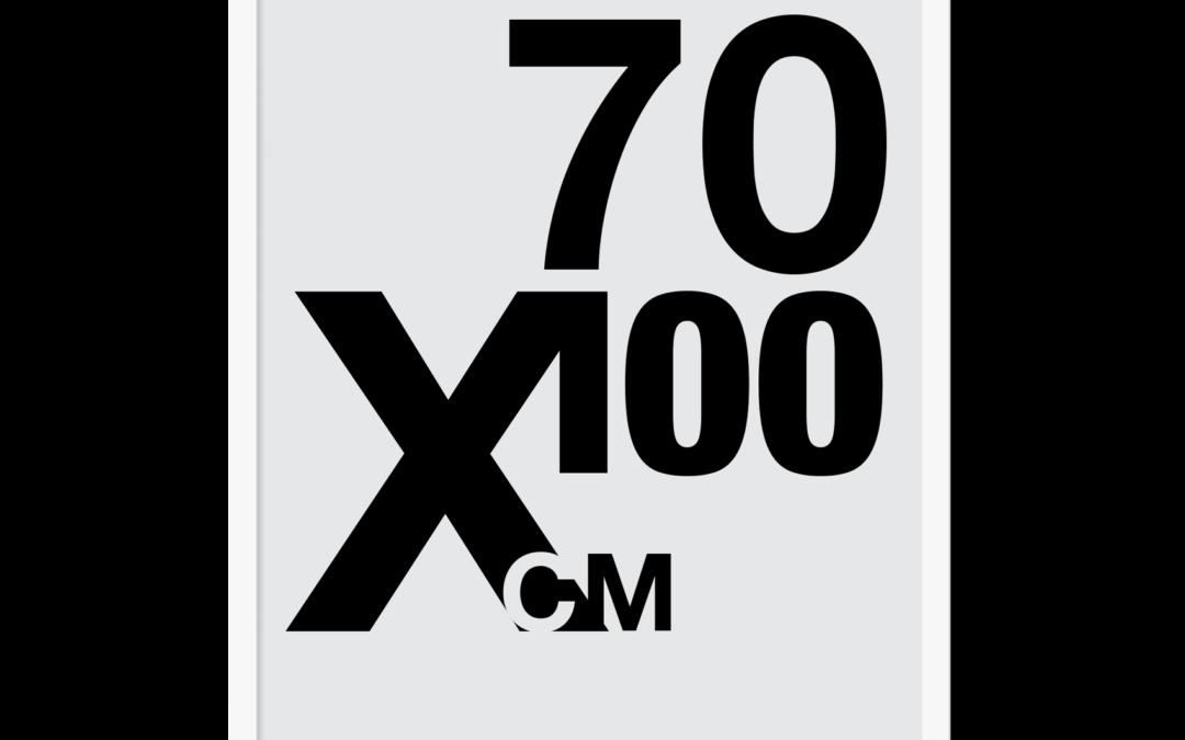 Plakat med eget design 70×100
