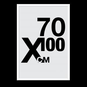 Design selv plakat i formatet 70x100, stor plakat til stuen eller soveværelset.