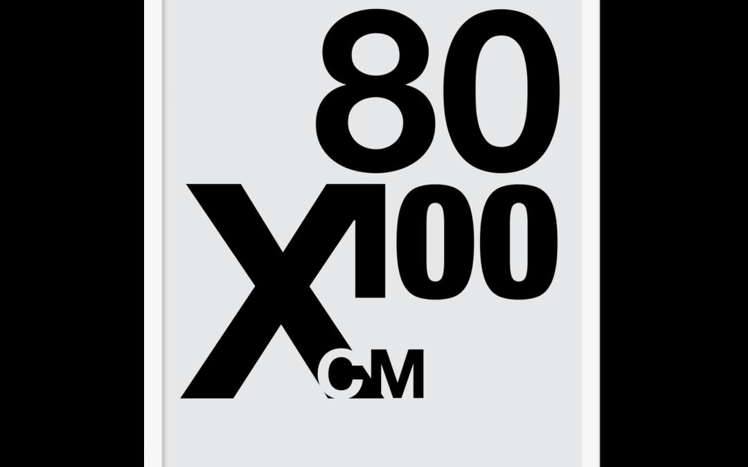Design selv plakat, 80×100